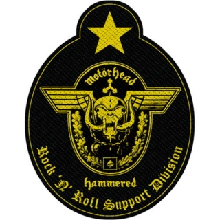 Malá nášivka - Motorhead - Support Division Cut-Out
