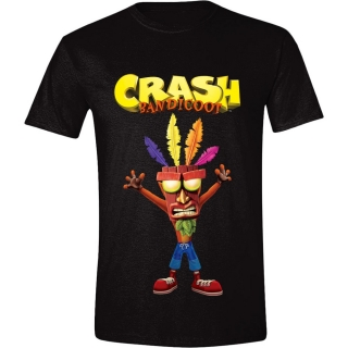 Tričko Crash Bandicoot - Aku Aku