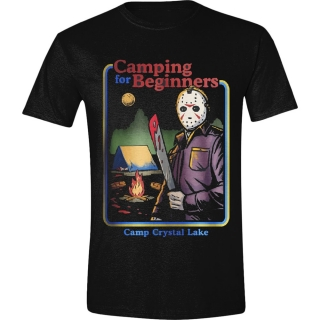 Tričko Friday the 13th - Camping For Beginners