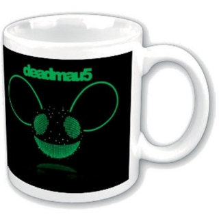 Hrnček Deadmau5 - Green Disco-Ball Head