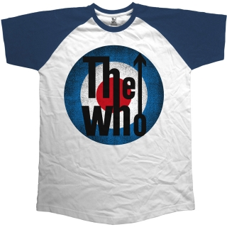 Tričko The Who - Vintage Target, navy blue & white