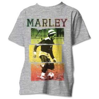 Tričko Bob Marley - Football Text