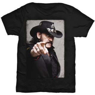 Tričko Lemmy Kilmister - Pointing Photo