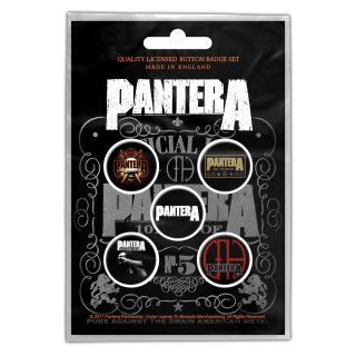 Set odznakov Pantera - 101 Proof