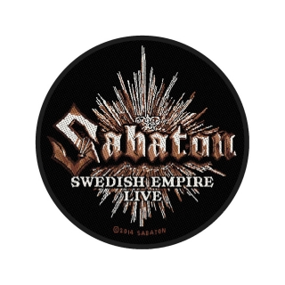 Malá nášivka - Sabaton - Swedish Empire
