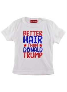 1c2a78a03899 Detské tričko Darkside - Better Hair Than Trump (biele) empty
