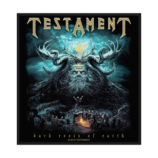 Malá nášivka - Testament - Dark Root of the Earth