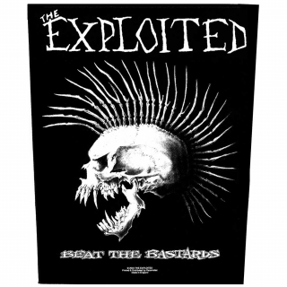 Veľká nášivka - The Exploited - Beat the Bastards