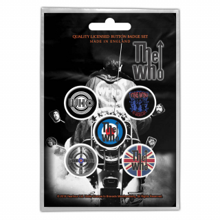 Set odznakov - The Who - Quadrophenia