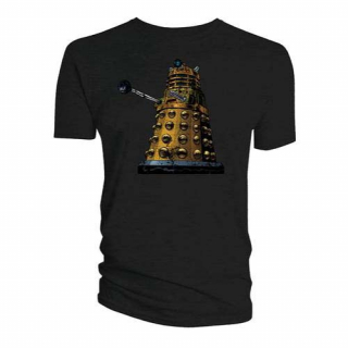 Tričko Doctor Who - Comic Dalek Distressed