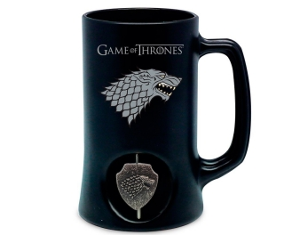 Hrnček/Krígeľ Game of Thrones - Stark 3D Rotating Beer Stein