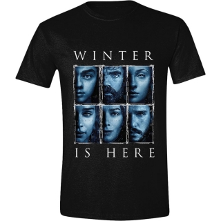 Tričko - Game of Thrones - Winter Is Here