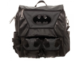 Taška/Batoh - Batman - Costume Inspired Backpack - Black