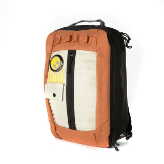 Batoh 3v1 - Star Wars - Resistance Pilot Inspired Backpack - Orange