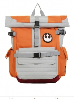 Batoh - Star Wars - Rebel Pilot Roll Top Backpack - Orange