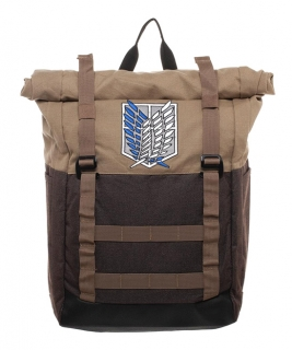 Batoh - Attack on Titan - Logo Roll Up Backpack