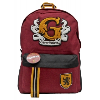 Batoh Harry Potter - Gryffindor Felt Patch Backpack