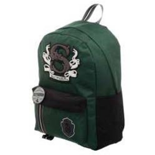 Batoh Harry Potter - Slytherin Felt Patch Backpack