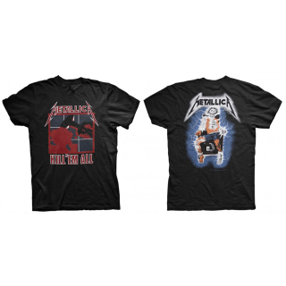 Tričko Metallica - KILL 'EM ALL (BACK PRINT)