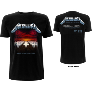Tričko Metallica - MASTER OF PUPPETS TRACKS (BACK PRINT)