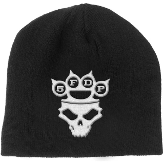 Zimná čiapka Five Finger Death Punch - Knuckle-Duster Logo & Skull