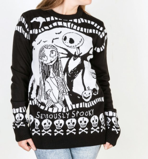 Unisex sveter The Nightmare Before Christmas - Seriously Spooky