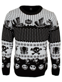 Unisex sveter The Nightmare Before Christmas - Symbols