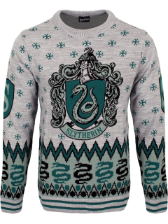 Unisex sveter Harry Potter - Slytherin Crest