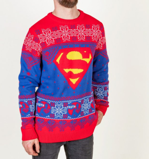 Unisex sveter Superman - Truth Logo