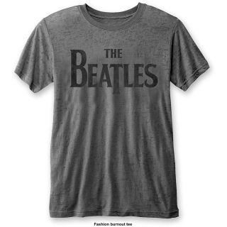 Fashion tričko The Beatles - Drop T Logo (Burn Out)