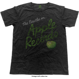 Fashion tričko The Beatles - Apple Records (Vintage Finish)