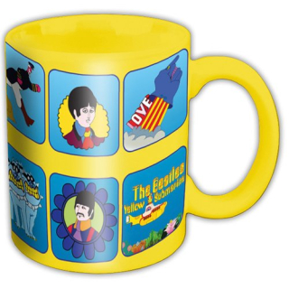 Hrnček The Beatles - Yellow Submarine Characters