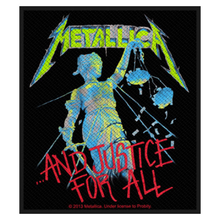 Malá nášivka - Metallica - And Justice for All