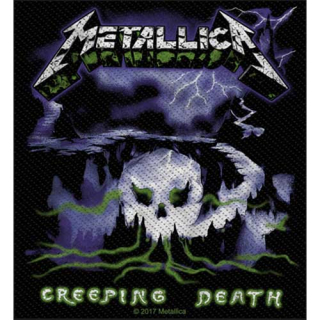 Malá nášivka - Metallica - Creeping Death